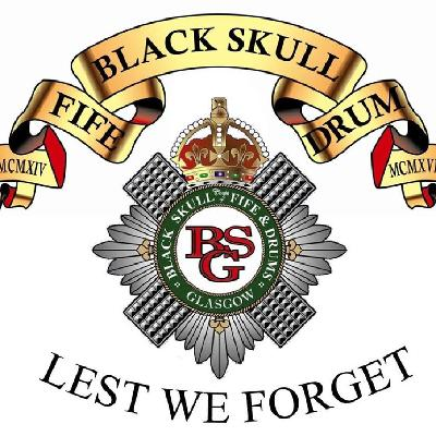 Black Skull Glasgow corps of fife & drums