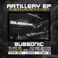 Subsonic tickets and 2019 tour dates
