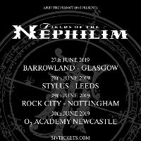 Fields Of The Nephilim tickets and 2019 tour dates