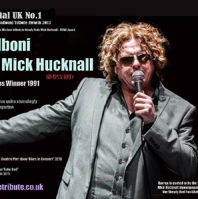 Darren Alboni as Mick Hucknell - Simply Red